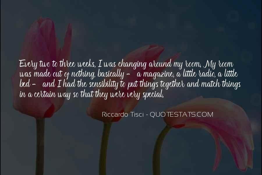 Quotes About Nothing Changing #1393746