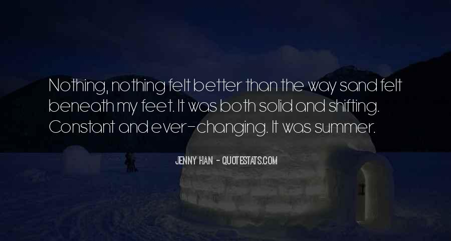 Quotes About Nothing Changing #1405832