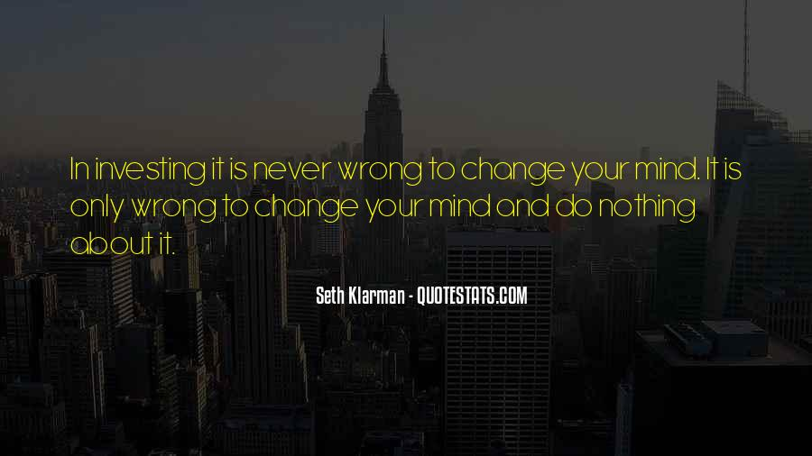 Quotes About Nothing Changing #647067