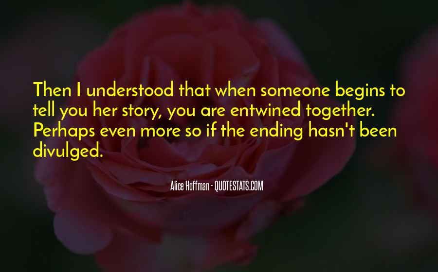 Quotes About Ending Up Together #1238145