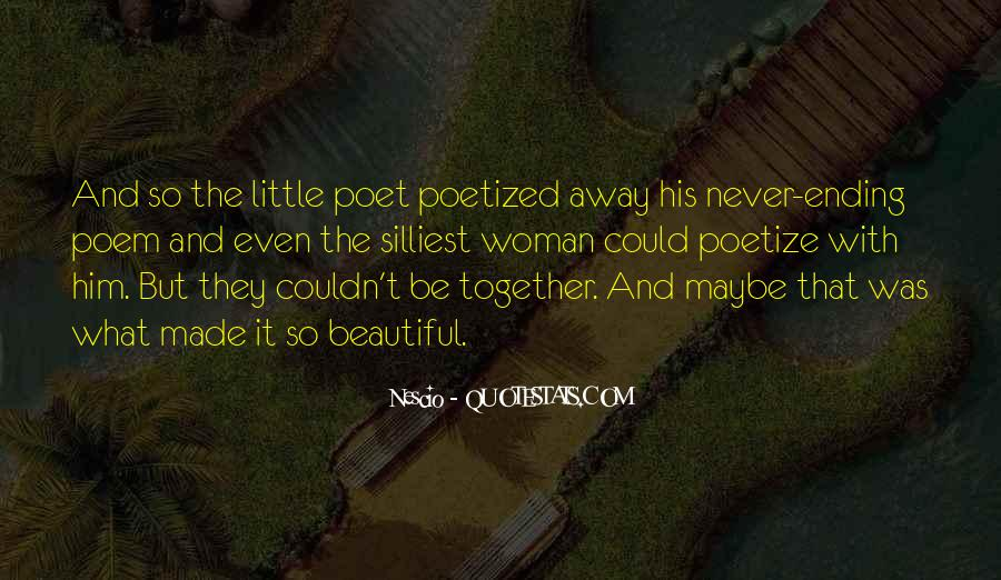 Quotes About Ending Up Together #1354953