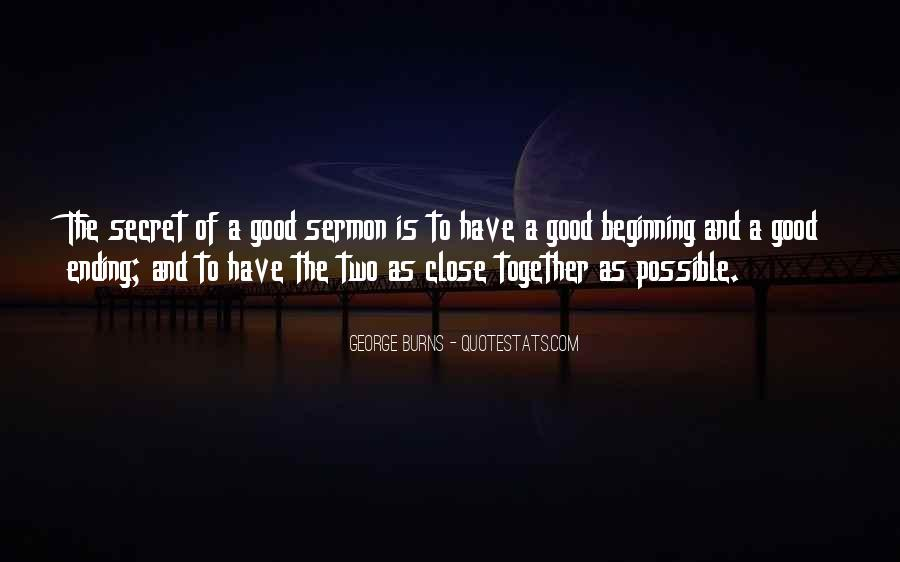 Quotes About Ending Up Together #1368408