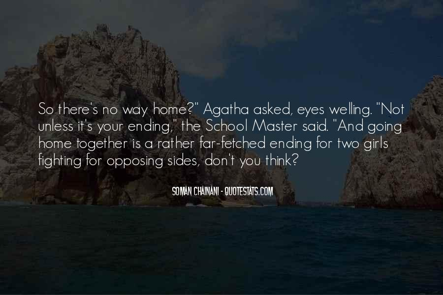 Quotes About Ending Up Together #163878