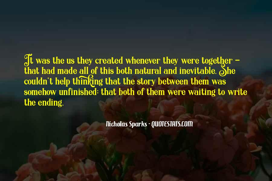 Quotes About Ending Up Together #404715