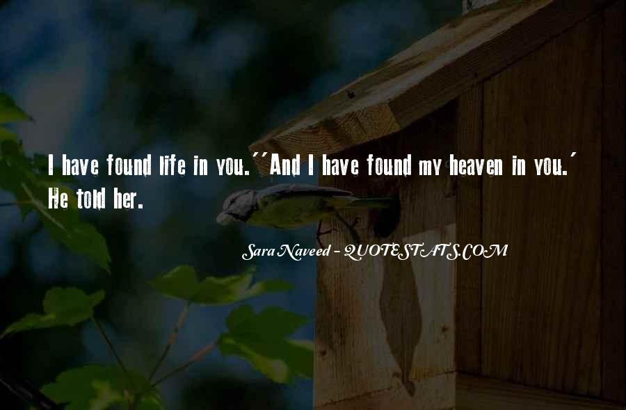 Quotes About I Found Her #363745