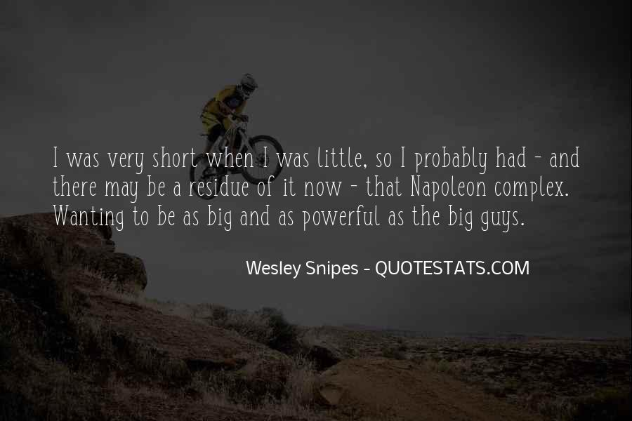 Quotes About Short Guys #245503