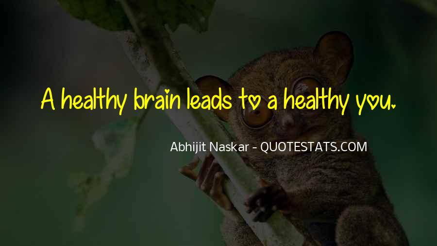 Quotes About Brain Health #169827