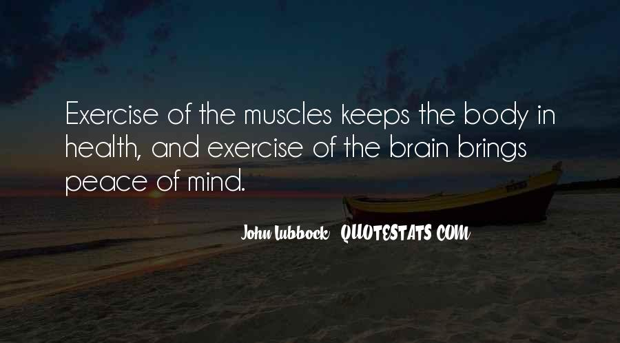 Quotes About Brain Health #461776