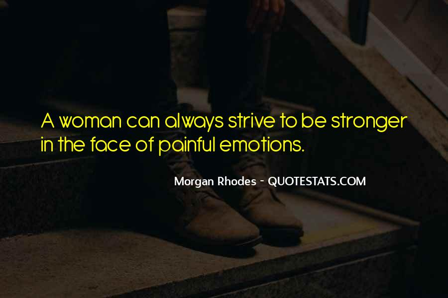 Quotes About Painful Emotions #1074006