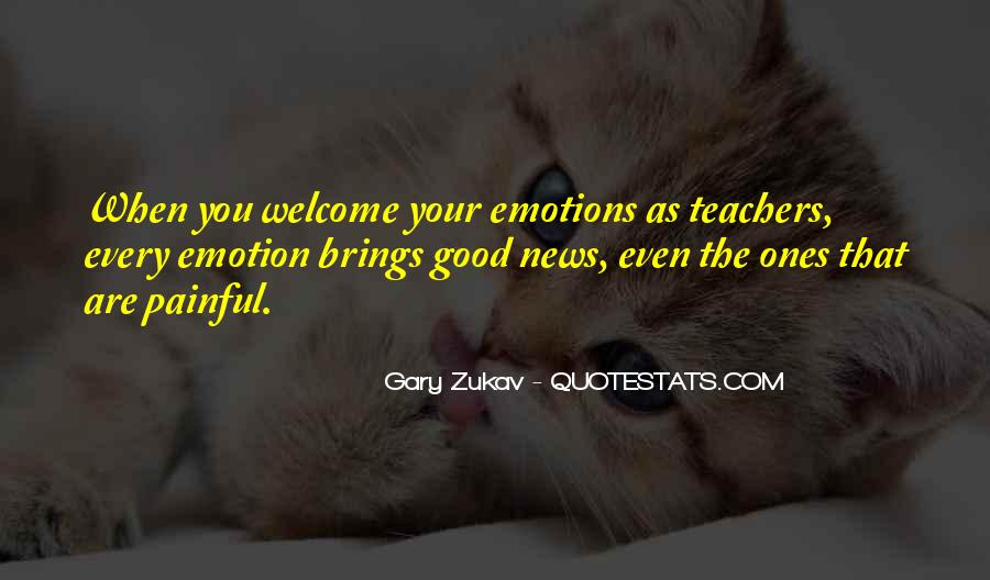 Quotes About Painful Emotions #1673622