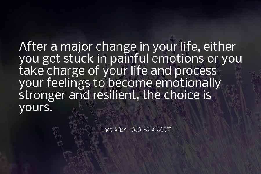 Quotes About Painful Emotions #447929