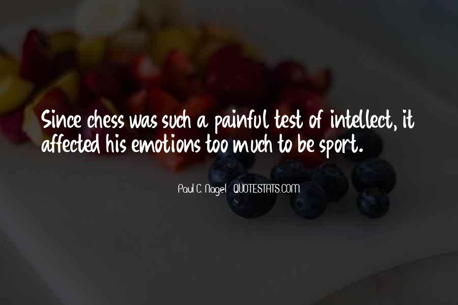 Quotes About Painful Emotions #722309