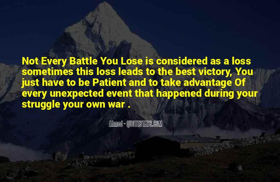Quotes About Take Advantage #201018