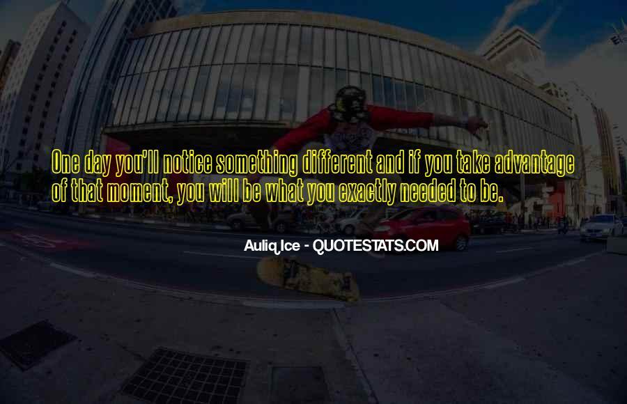 Quotes About Take Advantage #287590