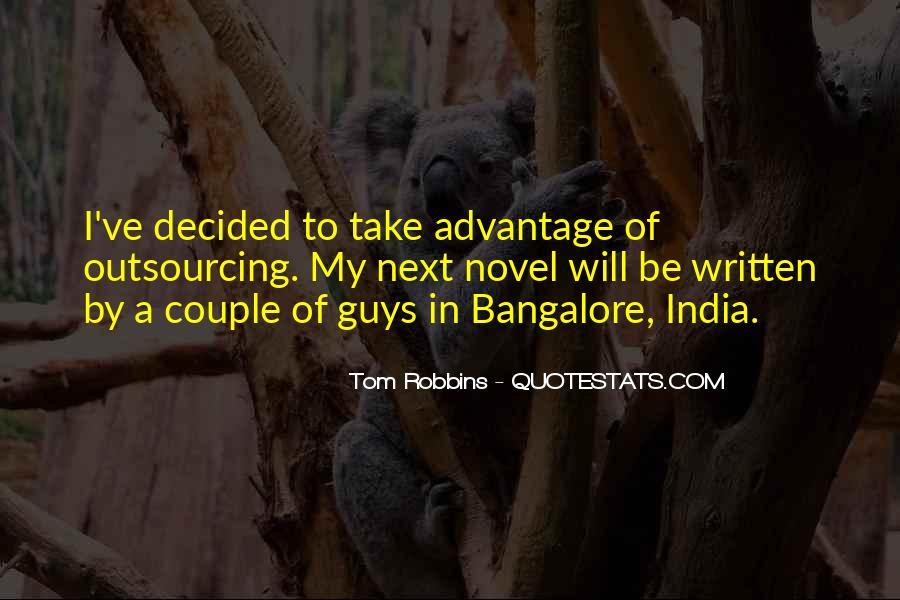 Quotes About Take Advantage #346842