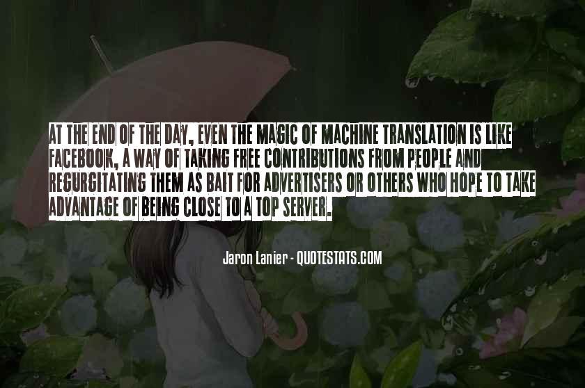 Quotes About Take Advantage #60175