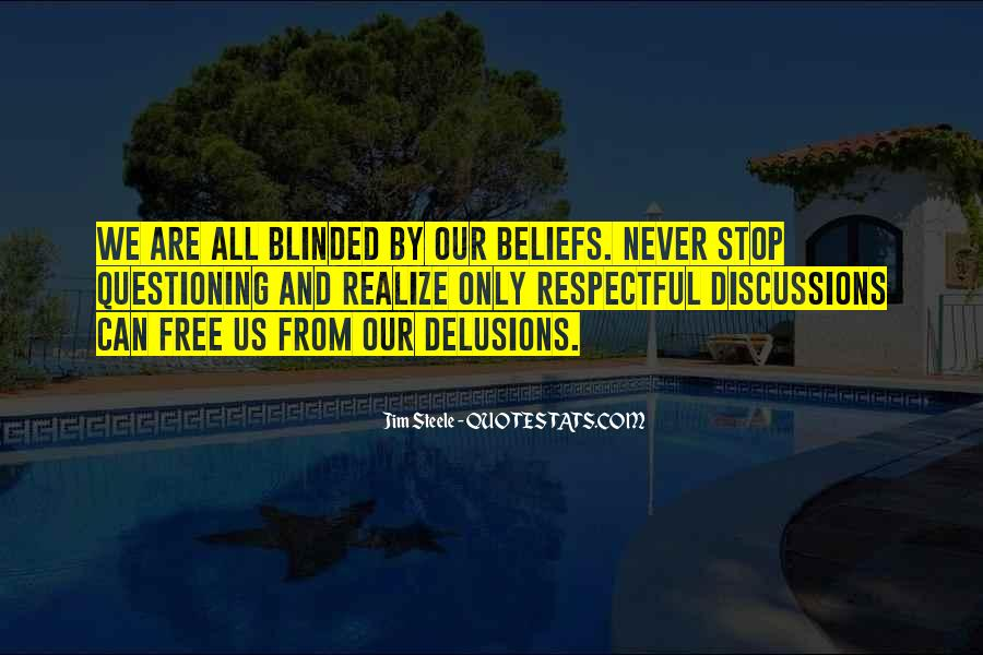 Quotes About Questioning Your Beliefs #1123181