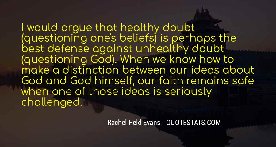 Quotes About Questioning Your Beliefs #1206111