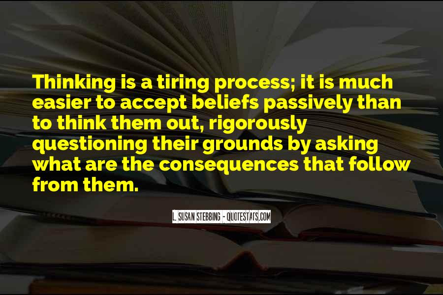 Quotes About Questioning Your Beliefs #1362767