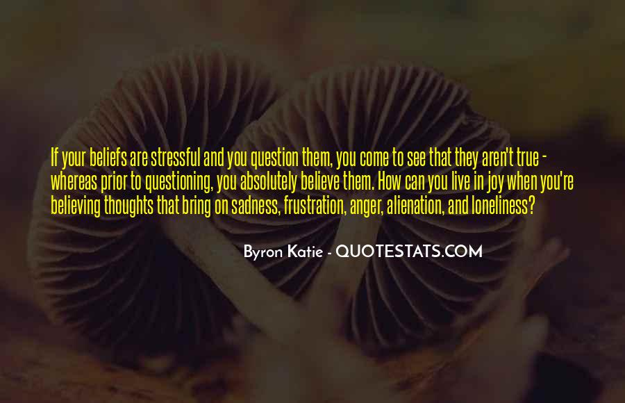 Quotes About Questioning Your Beliefs #622501