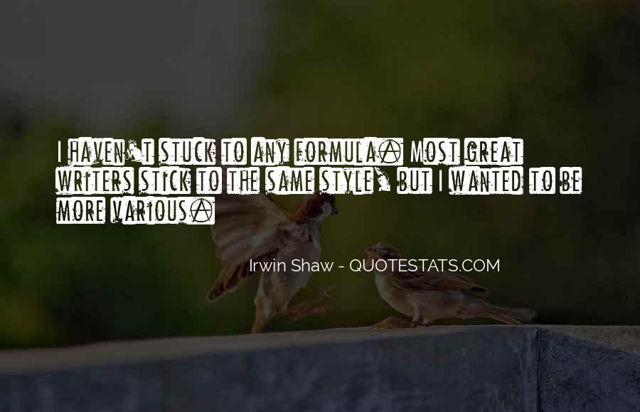 Quotes About Shaw #14418