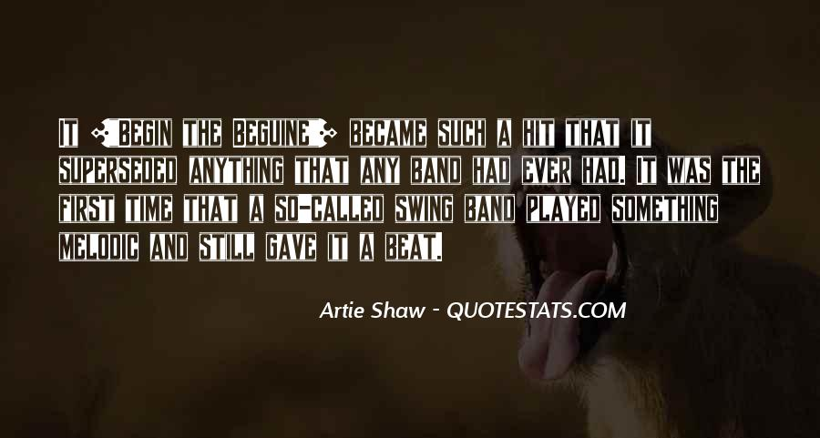 Quotes About Shaw #23142