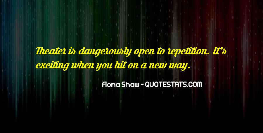 Quotes About Shaw #31841