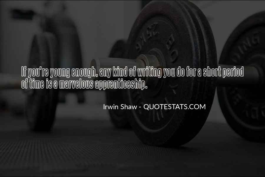 Quotes About Shaw #43178