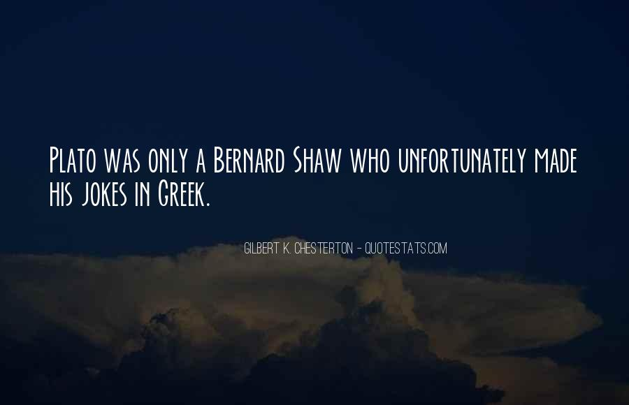 Quotes About Shaw #59870