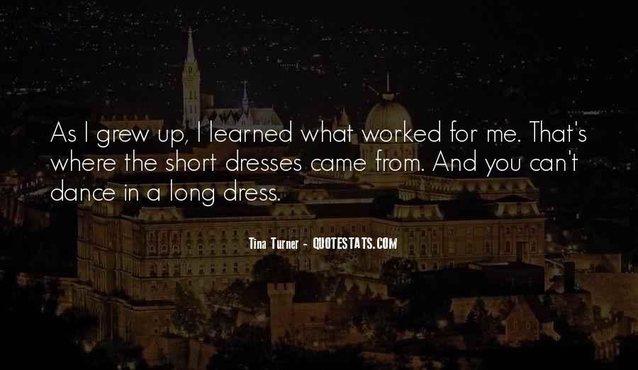 Quotes About Short Dresses #1023620