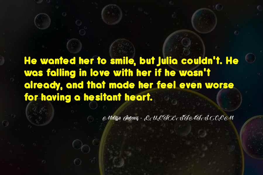 Quotes About Falling For Someone's Smile #1001487
