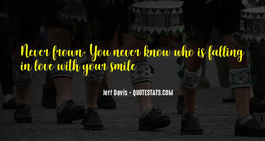 Quotes About Falling For Someone's Smile #165741