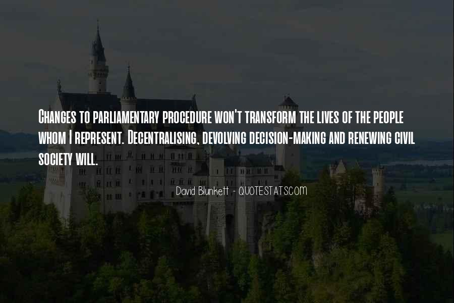 Quotes About Parliamentary Procedure #21196
