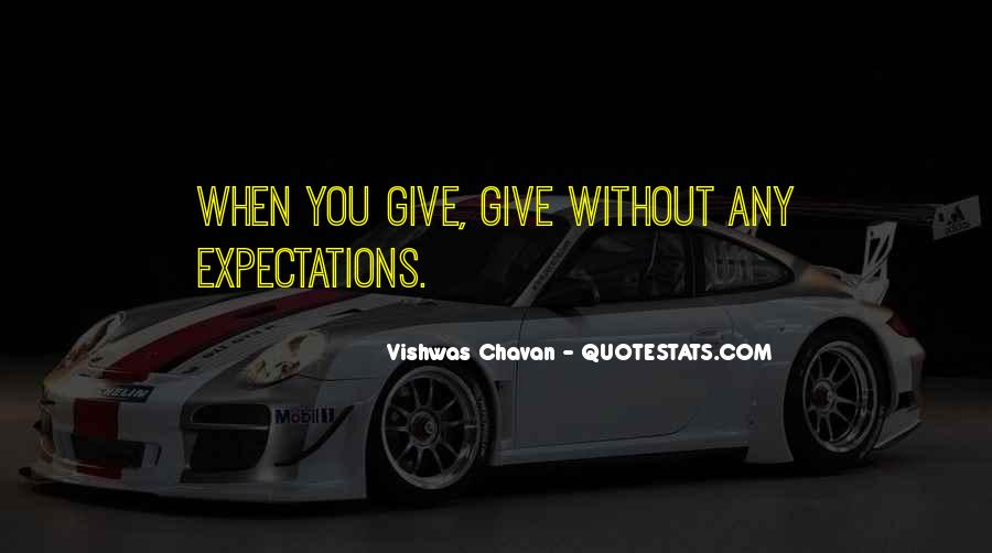 Quotes About No Expectations #114030