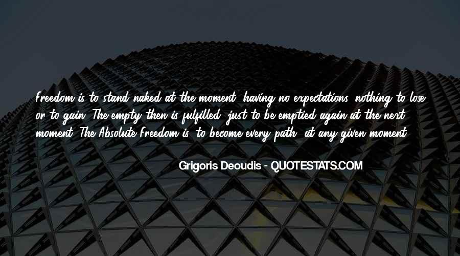 Quotes About No Expectations #161813