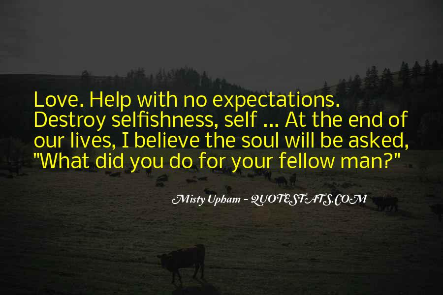 Quotes About No Expectations #200230