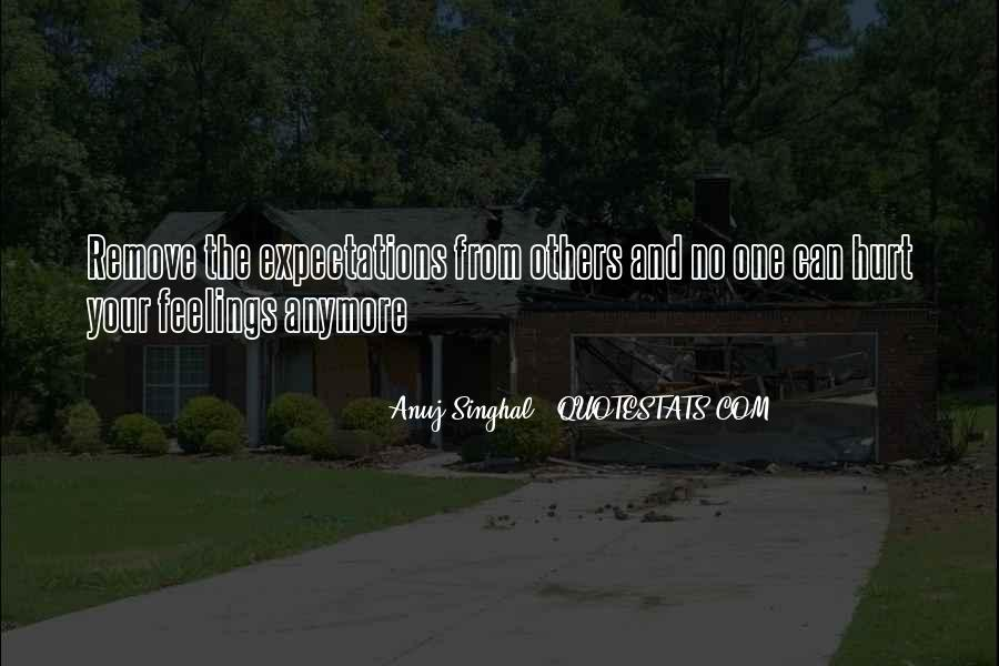 Quotes About No Expectations #217283