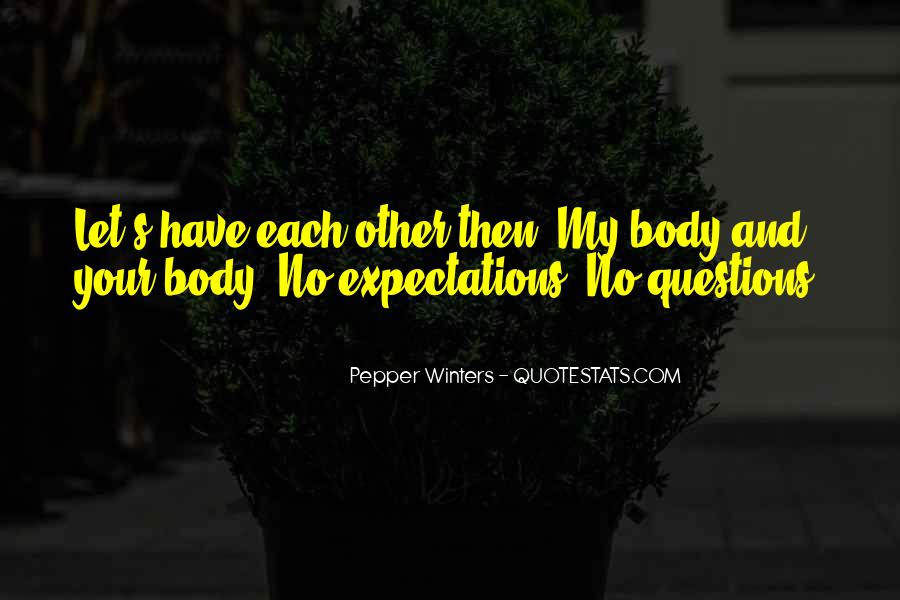 Quotes About No Expectations #236102