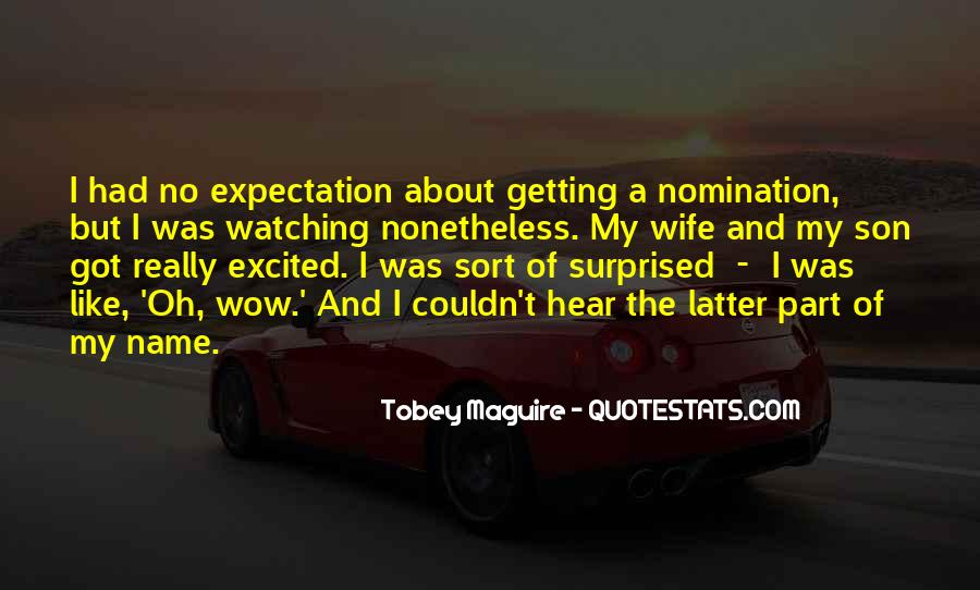 Quotes About No Expectations #246246