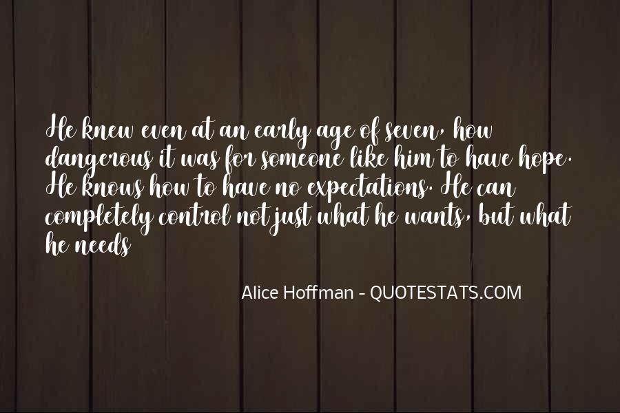 Quotes About No Expectations #31005