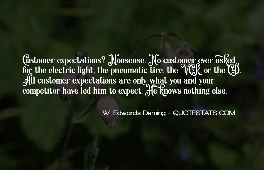 Quotes About No Expectations #321871