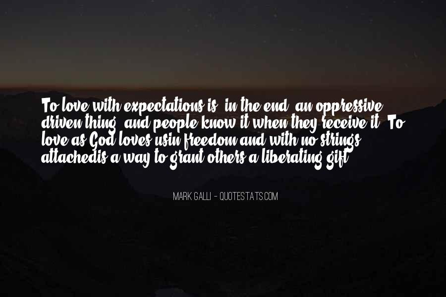 Quotes About No Expectations #435879