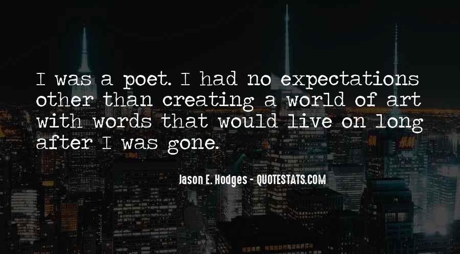 Quotes About No Expectations #507341