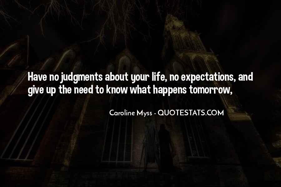 Quotes About No Expectations #528517