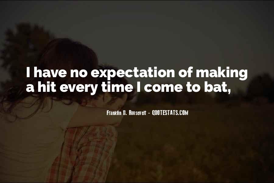 Quotes About No Expectations #599209
