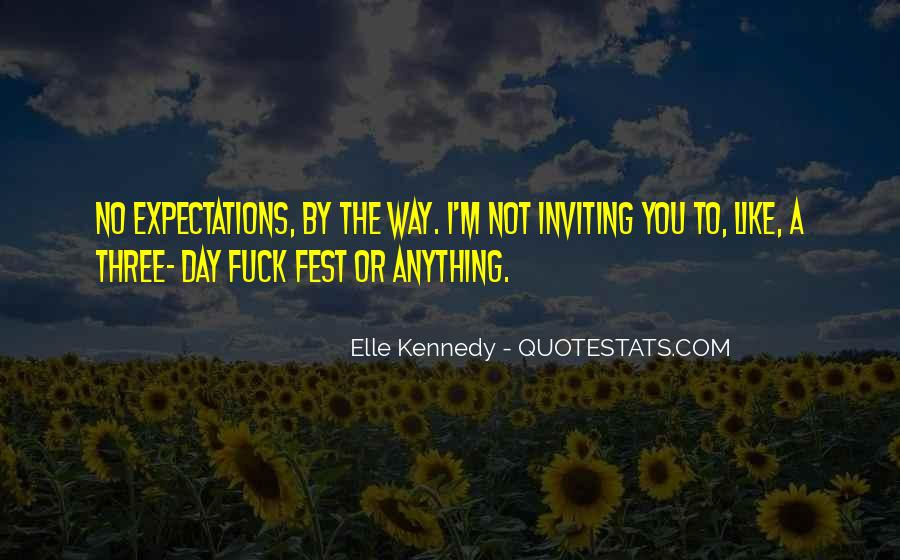 Quotes About No Expectations #80466