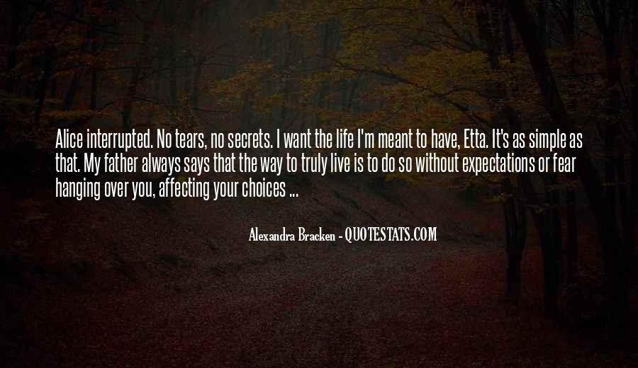 Quotes About No Expectations #87695