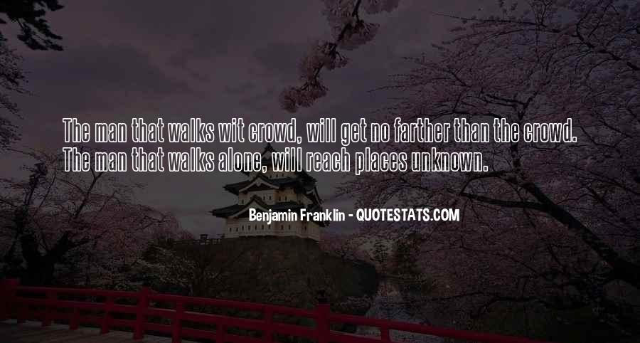 Quotes About Crowds #100845