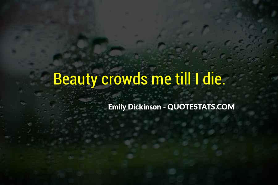 Quotes About Crowds #170600