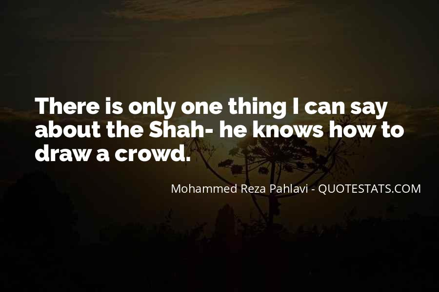 Quotes About Crowds #171723